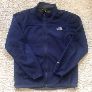 Men's The North Face Windwall Navy Fleece Jacket